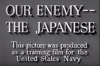 むしろ敬意しか浮かんでこないのだが? 戦時中米国が作成した反日プロパガンダ映像がつっこみどころ満載な件
