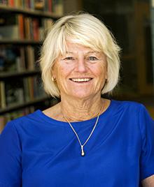 Göteborgs universitets rektor Pam Fredman och Christer Mattsson