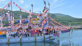 【2018/6/9】第33回南かやべひろめ舟祭り