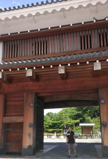Sunpu Castle, East Gate