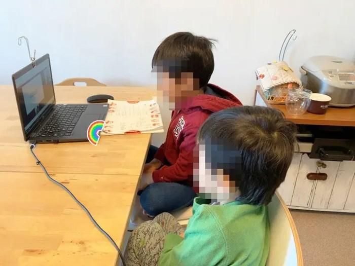 QQEnglishの授業の様子