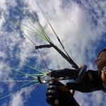 パラグライダー地上練習