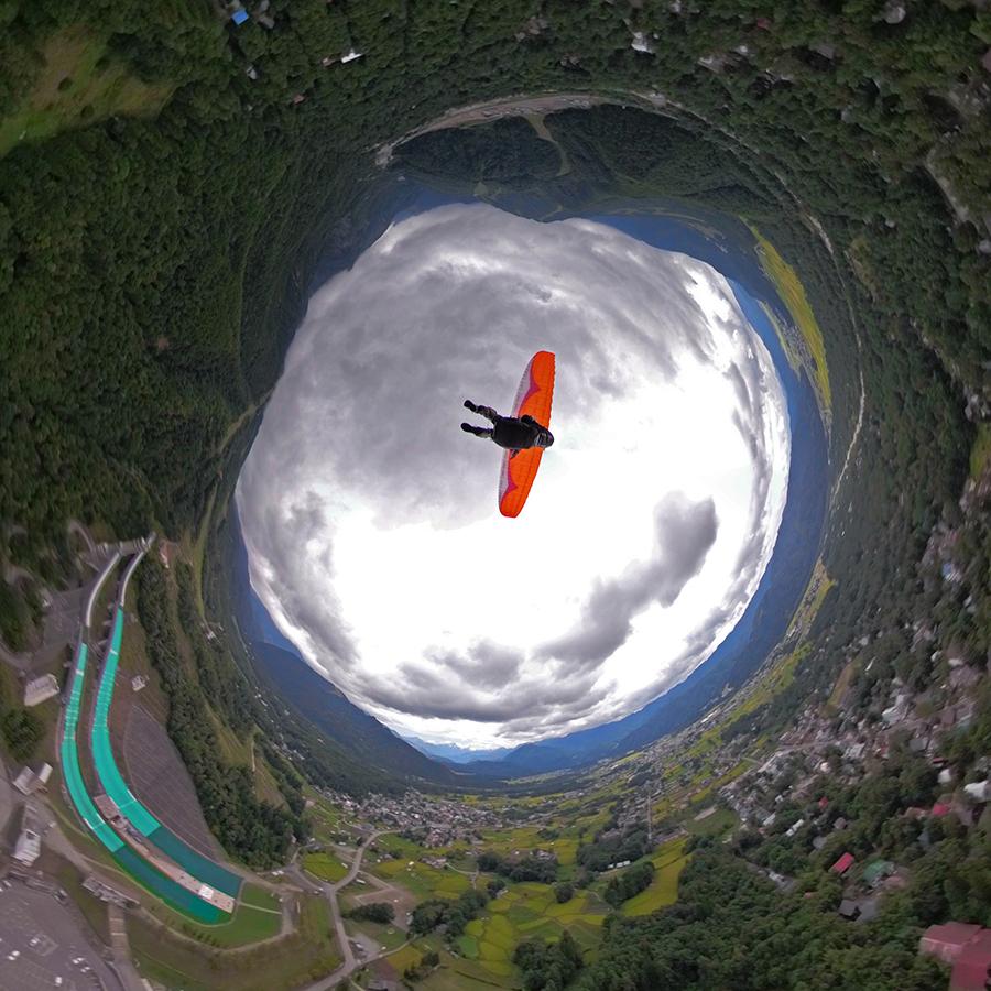 GoPro Fusionで空撮