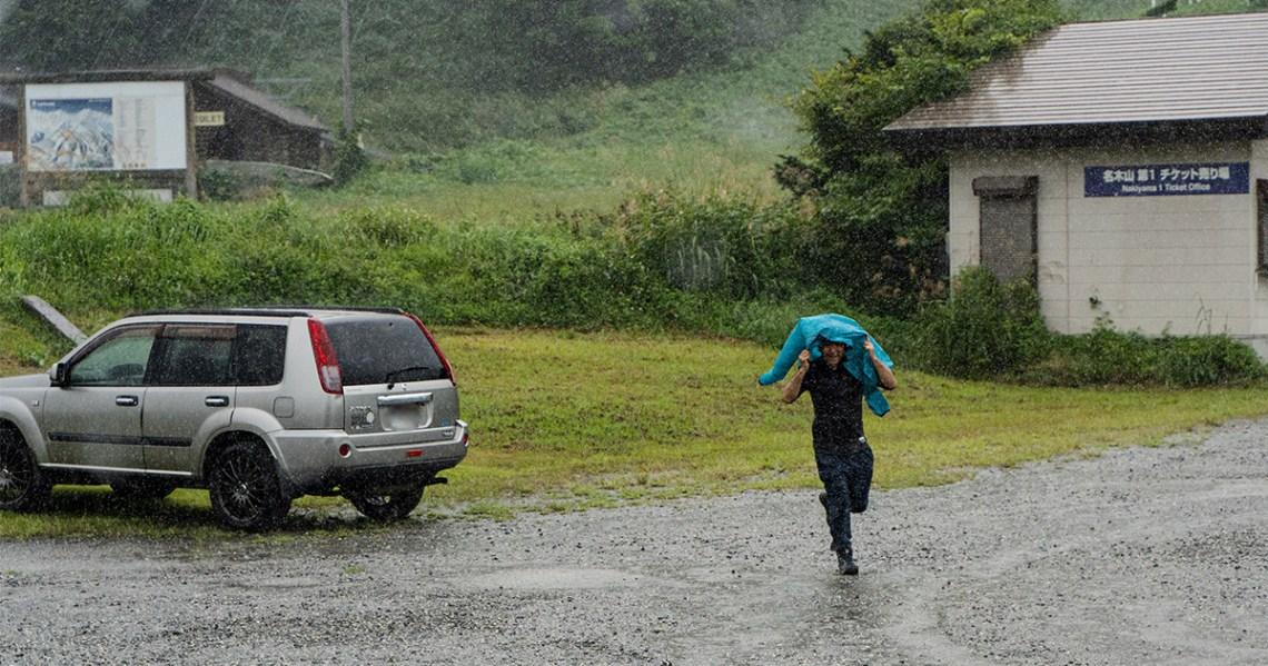 予報以上の豪雨