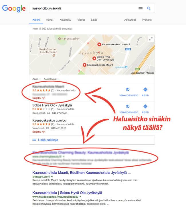 Näy Googlen haussa paremmin – Hakukonekeisari auttaa