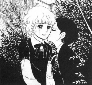 A panel from Year 24 Group member Moto Hagio's Heart of Thomas.