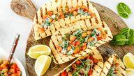 وصفات لمأكولات سريعة وصحية