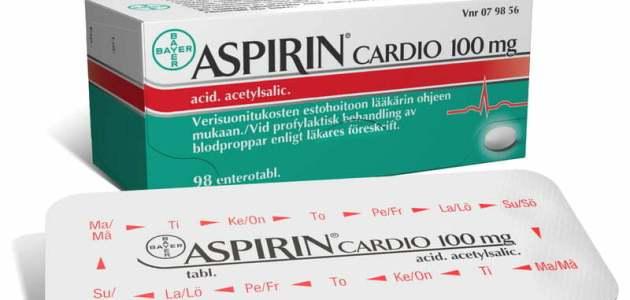 دواء الأسبيرين Aspirin مضاد تأكسد الصفيحات ودواعي إستخداماته