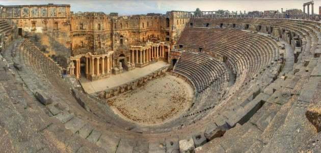 محافظة درعا السورية موقعها الجغرافي و أهم معالمها الأثرية