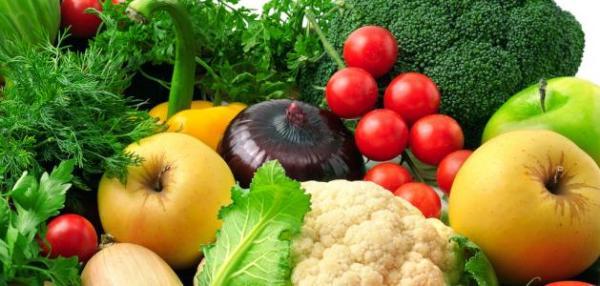 العناصر الغذائية في الخضار