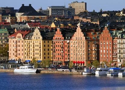 جزيرة كونجشولمين kungsholmen ومعالمها الأثرية