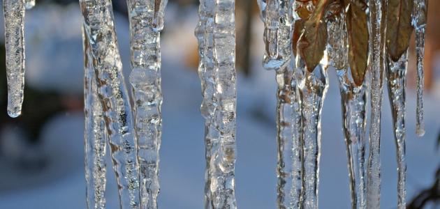 ما هي درجة تجمد الماء …. و درجة انصهار الماء النقي ؟