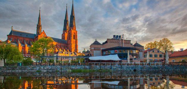 مدينة أوبسالا Uppsala أبرز المعالم السياحية