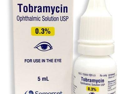 دواء التوبرامايسين Tobramycin استعمالاته والآثار الجانبية