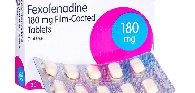 الفيكسوفينادين Fexofenadine 180 mg