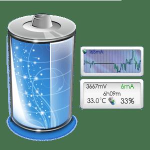 قياس سرعة الشاحن وفحص البطارية لأجهزة أندرويد