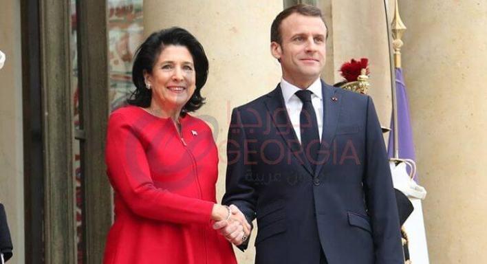 زيارة سالومي السابقة لفرنسا في أواخر فبراير
