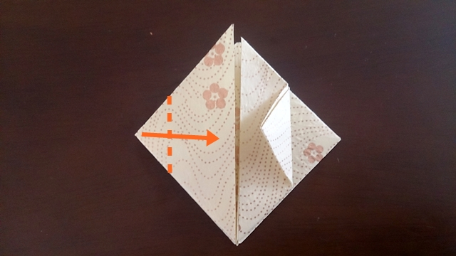 ひな祭りの折り紙ぼんぼり編9