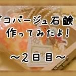 デコパージュ石鹸の作り方2!写真が破れて失敗…!?コツも紹介します
