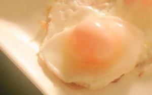 冷凍玉子の目玉焼き