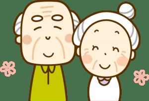 熱中症の原因 おじいちゃんおばあちゃん