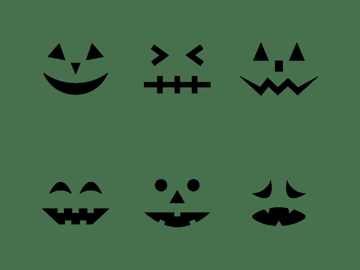ハロウィン かぼちゃ 顔