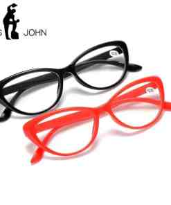 LS JOHN Classcial Cat Eyes Reading Glasses Clear Lens Presbyopia Spectacles Eyewear Glasses +1.0+1.5+2.0+2.5+3.0+3.5+4.0 Unisex Eye Sight Glasses Goggles Home, Pets and Appliances