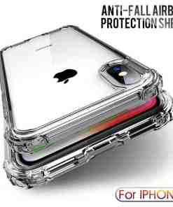 Luxury Shockproof Transparent Silicone Case For iPhone X XS 11 Pro Max XR Soft Phone Shell For iphone 6 7 8 Plus 11 Back Cover Cellphones & Telecommunications iPhone Cases/Covers Mobile Phone Accessories Phone Covers