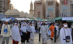 Pilgrims throng the center of the holy city of Madinah. In addition to the holy cities of Makkah and Madinah, Saudi Arabia has much more to offer to pilgrims and holidaymakers.