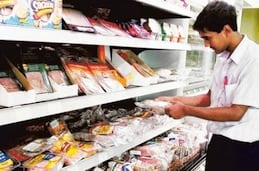 Image Credit: Francois Nel/Gulf News Archives A non-halal section at a supermarket. Municipality rules clearly state that pork products should not come into contact with surfaces of utensils or equipment used for other food products.