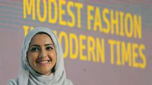 "Muslim Hijabi Hipsters Fusing Fashion With Faith DUBAI, United Arab Emirates — Oct 8, 2014, 5:01 PM ET By AYA BATRAWY Associated Press Mideast Fashion Hijabi Hipsters In this Oct. 5, 2014 photo, Summer Albarcha, owner of photo-sharing Instagram account ""Hipster Hijabis"", talks during a Fashion Forward session in Dubai, United Arab Emirates. By fusing both their sense of fashion with their faith, Muslim women are reinterpreting traditional notions of what it means to dress conservatively. Some have also pioneered businesses around this growing demand, finding unexpected supporters among some mainstream brands, as well as conservative Christian and Orthodox Jewish women. (AP Photo/Kamran Jebreili)"