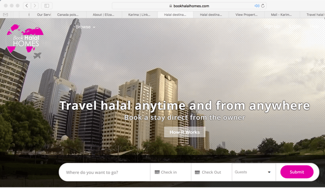Book Halal Homes Screenshot