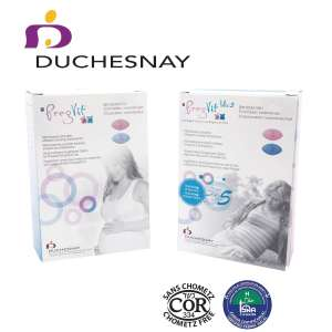 Duchesnay Launches New Formulation of its Pregvit® and Pregvit® Folic 5 Prenatal Vitamins, both products are also certified halal and kosher/kosher for Passover. (CNW Group/Duchesnay inc.)