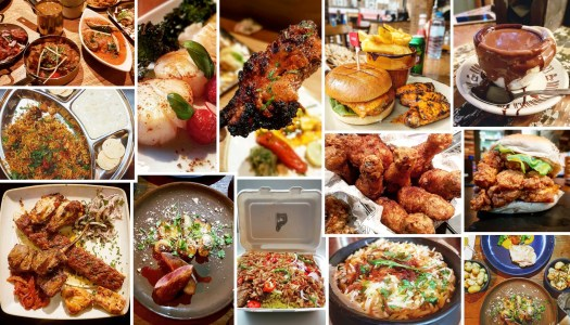 All 123 Places I ate In 2017
