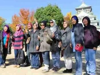 malaysian tourists to japan