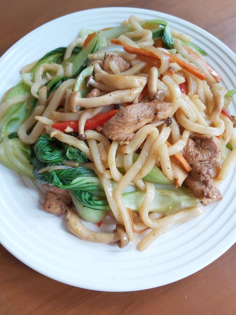 Yaki Udon / Stir-fried Udon