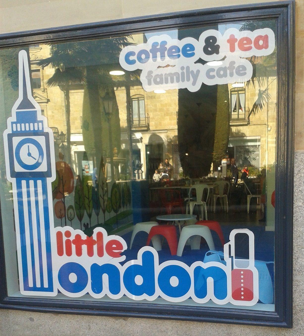 Fachada de Little London Salamanca