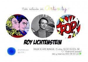 Roy Lichtenstein en Artivity