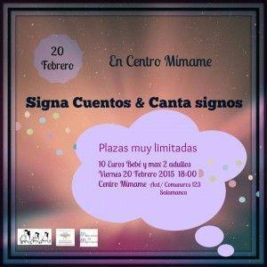 Signa Cuentos en el Centro Mímame