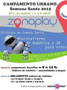 Actividades en Semana Santa 2015 en Zona Play