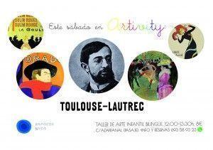 Toulouse-Lautrec en el Artivity de Espacio Nuca
