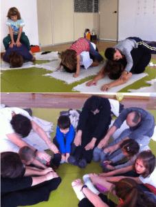 Yoga en familia en Espacio Psicologia Yoga