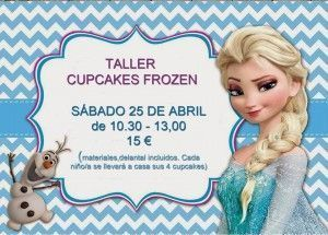 Cupckaes de Frozen en Tarty Party