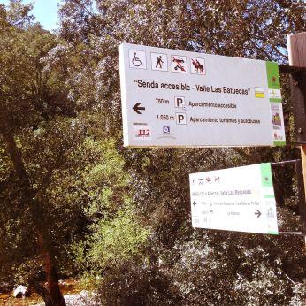 Senda Accesible en Las Batuecas