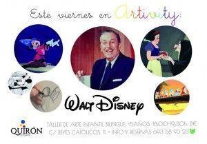 Walt Disney en el Artivity