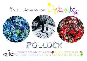 Pollock en el Artivity