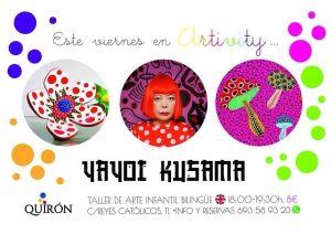Yayoi Kusama en el Artivity
