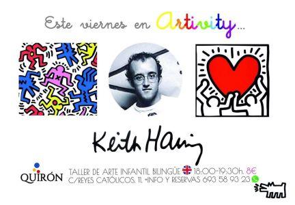 Keith Haring en el Artivity el viernes 5 de junio