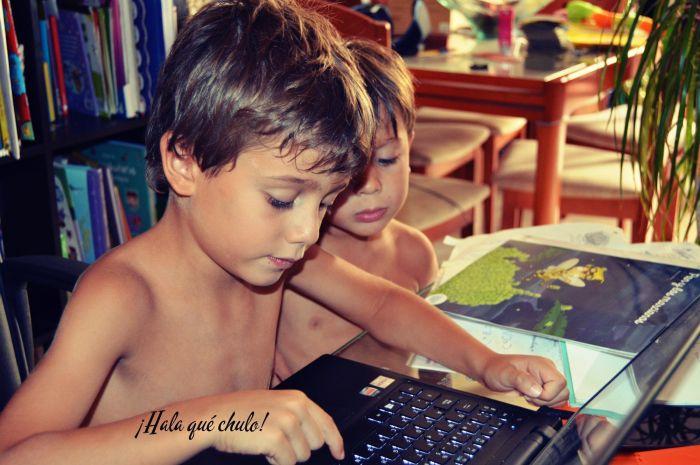 Ángel y Oliver Blogueros HQC