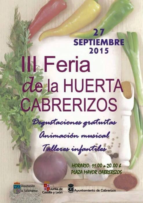III Feria de la Huerta en Cabrerizos